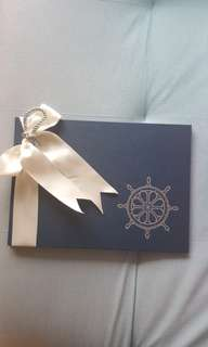 Nautical/Marine Wedding Guest Book