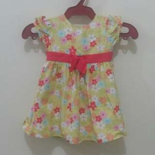 OshKosh Bgosh Yellow Floral Dress