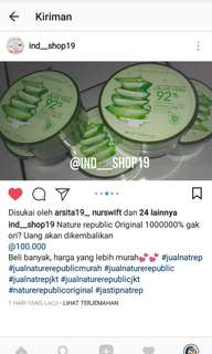 Nature republic Original 100%