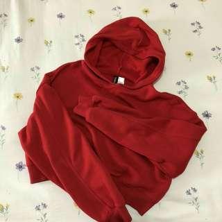 H&M cropped hoodie