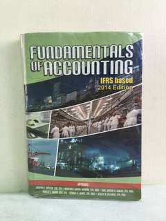 Fundamentals of Accounting IFRS based 2014 Edition