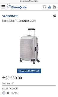 Authentic Samsonite