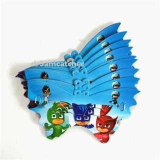 PJ Masks paper masks 10 pieces