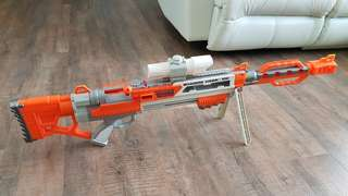 Rare Max Force Shadow Hawk 100 Sniper Blaster (Not Nerf)