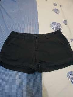 Hot pant celana pendek hitam