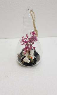 Dried Flower Terrarium