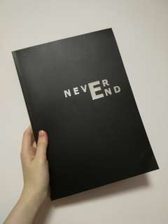 BTS THEHO218 NEVER END JHOPE Photobook 152p