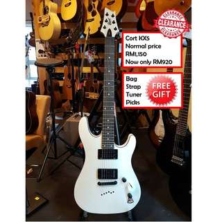 Cort KX5 FR WP White Pearl KX Series Electric Guitar