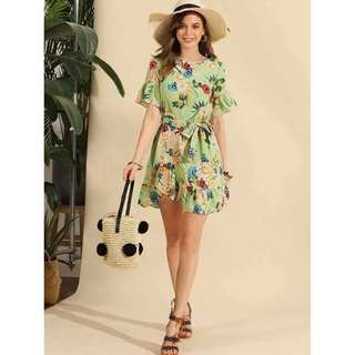 Casual Floral Dress - COD