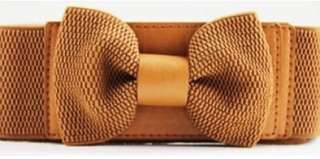 Pretzel Ribbon Belt