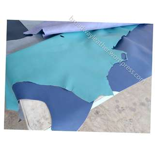 Turquoise leather for sale