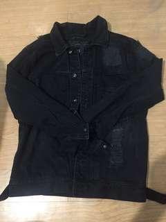 Zara distress jacket