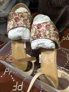 購自日本花花涼鞋 size 24