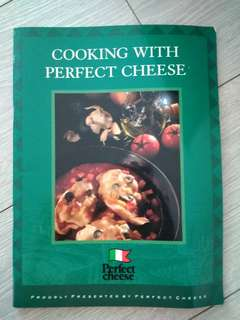Cooking with perfect cheese cook book