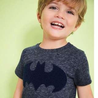75769be7b9 JB016 New Boys Batman Tee T-shirt Top 18M 2T 3T 4T 5T 6T