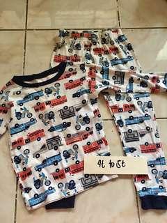 Sleepwear Terno Pajama