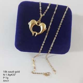 18K SD Necklace