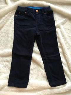 H&M Unisex Boys corduray navy
