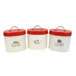 Idaho Canister set of 3 (toples kaleng)