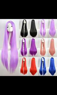 BEST SELLING! 'Preorder' 100cm long ladies cosplay/daily wigs *waiting time 15 days after payment is made *pm to order