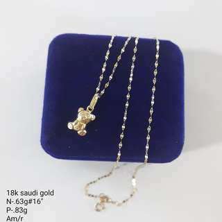18K SD Necklace