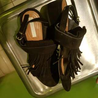 H&M Leather Sandals Size 36