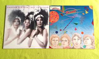 POINTER SISTERS ● PLANETS . hot together / ~ ( buy 1 get 1 free )  vinyl record