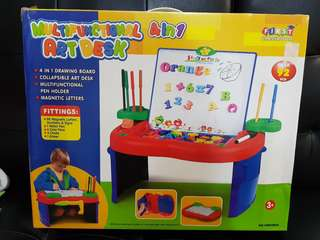 Multifunctional Artdesk or toddler activity table