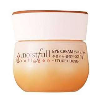 Etude house collagen eye cream