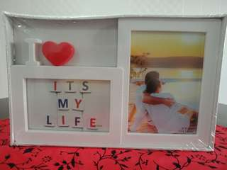 Simple Living White Photoframe