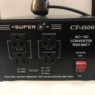 變壓器 super converter 1500watt