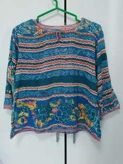 🚚 購於國外夏季棉麻民族風上衣