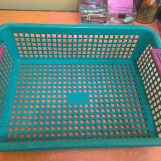 Plastic Basket with Handle