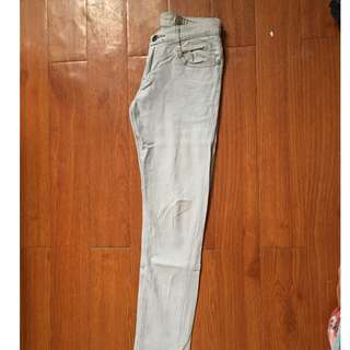 CREAM skinny pants