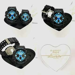 Limited Edition!  G-SHOCK & BABY-G COUPLE GA200