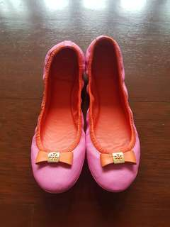 Tory Burch Flats Pink and Orange Size 7