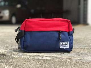 Herschel Clutch Bag Blue Red