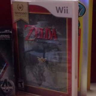 Wii Zelda Twilight Princess US