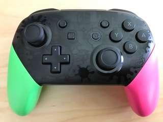 Nintendo pro controller splatoon version