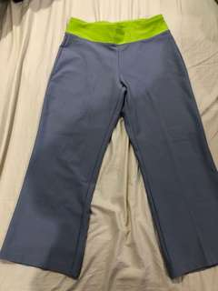 Nike dri fit work out pants