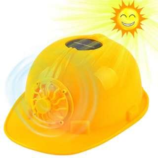Solar Safety Helmet Fan