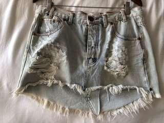 One Teaspoon Junkyard Skirt size 29