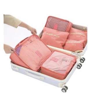 Lightweight Travel Organiser Set (6 Piece)