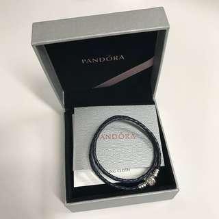 Pandora 皮手繩 35 cm