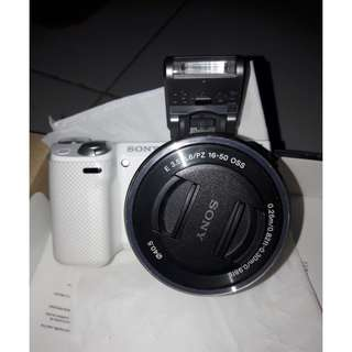 Sony Camera Mirrorless Alpha Nex-5T Digital 16.1MP WIFI