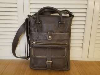 Roots Canada leather bag