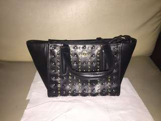 Coach leather handbag black