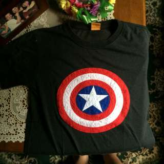 Captain America tee shirt