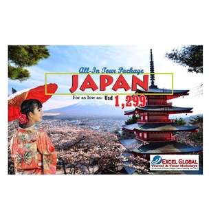 ALL-IN JAPAN TOUR PACKAGE SALE!!!