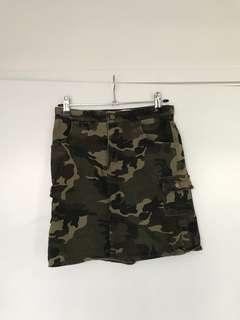 Meshki Camo Skirt